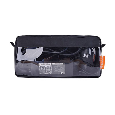 power and Digital storage bag with clear window