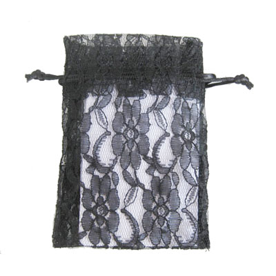 lace gift drawstring bag