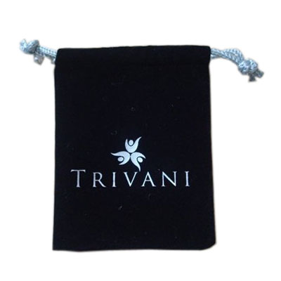 Small size velvet jewelry bag