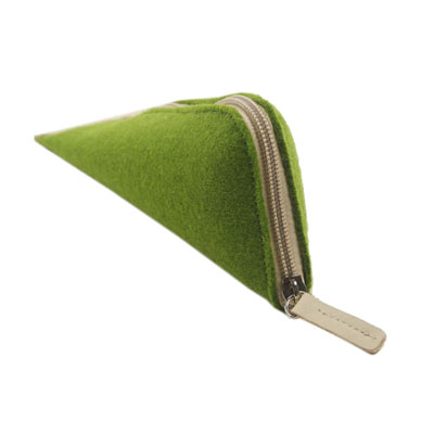 triangle felt pencil case