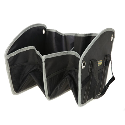 Foldable car trunk storage bag
