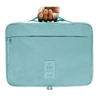 Portable men's shirt travel storage handbag