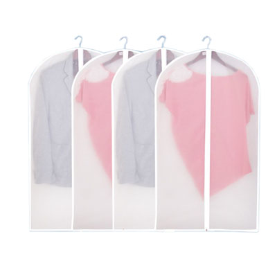 Translucent matte texture clothes dust cover clothes bag