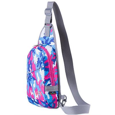 nylon camouflage lightweight shoulder bag chest bag