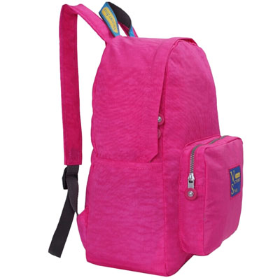 Wash-nylon-school-backpack