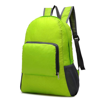 Large capacity foldable lightweight nylon backpack