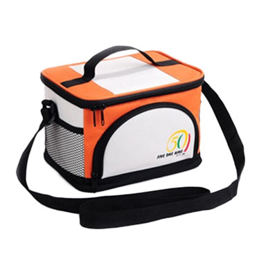 Classic square lunch bag cooler bag