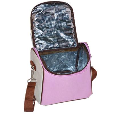 Microfiber cooler bag