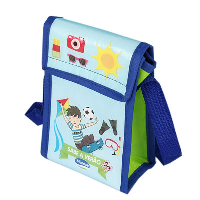 Cheap non-woven aluminium foil cooler bag for kids