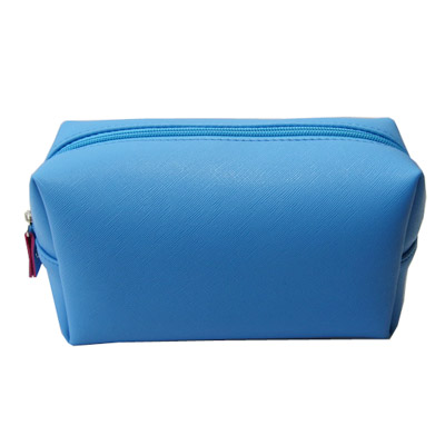 small PVC leather toiletry bag