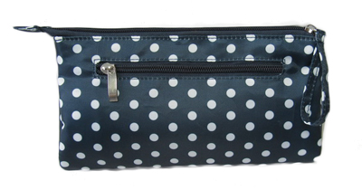 Dotted printing small cosmetic bag