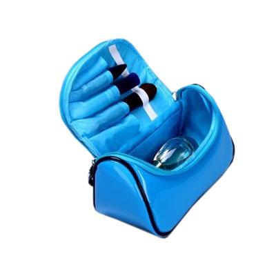 waterproof vinyl cosmetic bag