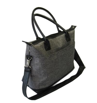 Durable nylon ladies handbag back