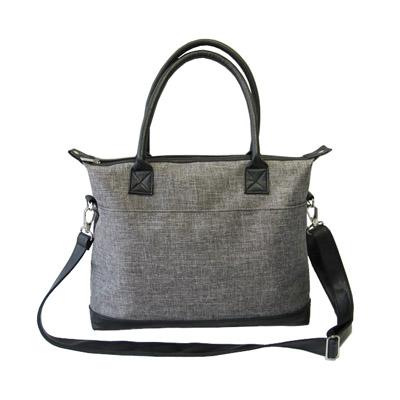 Durable nylon ladies handbag back-1