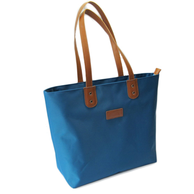 Quality nylon shopping tote bag