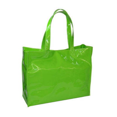 Jelly pvc beach tote bags