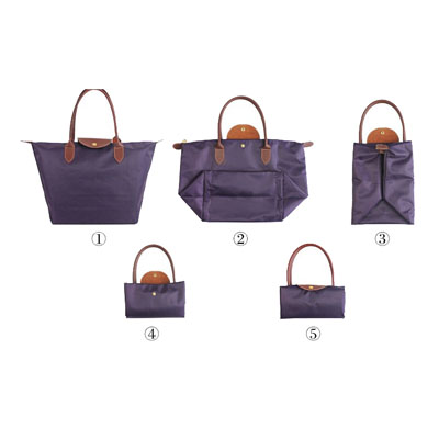 Foldable-handle-shopping-bag