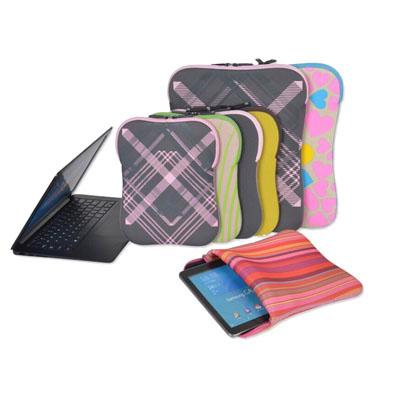 printed neoprene notebook or ipad bag