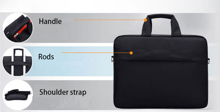 High-quality-polyester-laptop-bag