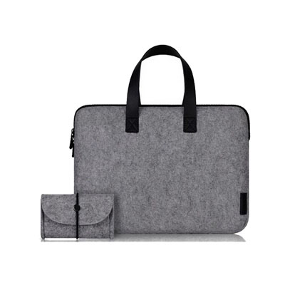 Felt Laptop Bags with Mouse Separate Bags