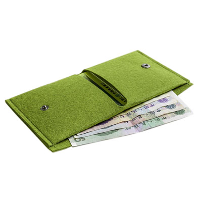 Felt wallet for boys