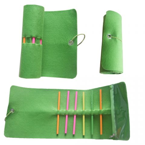New style felt pencil case