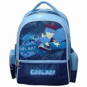 cartoon printing school bags for boy