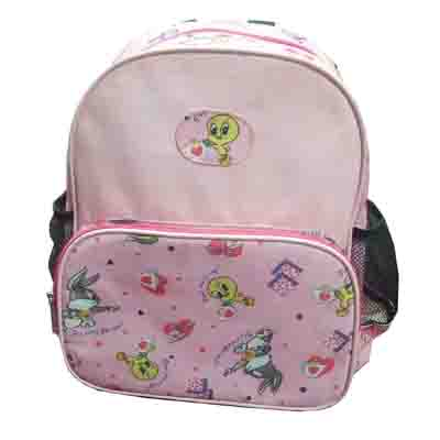 cut cartoon printing school backpack