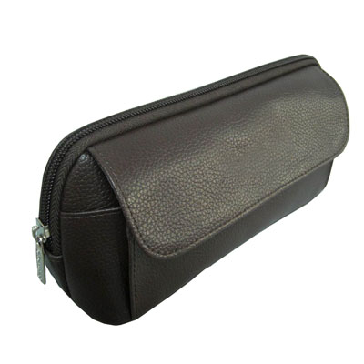 Fake leather men cosmetic bag