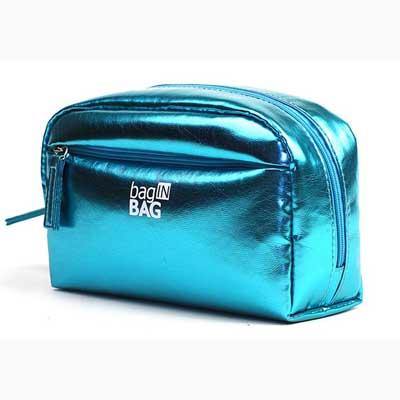 Metalic PU cosmetic bag