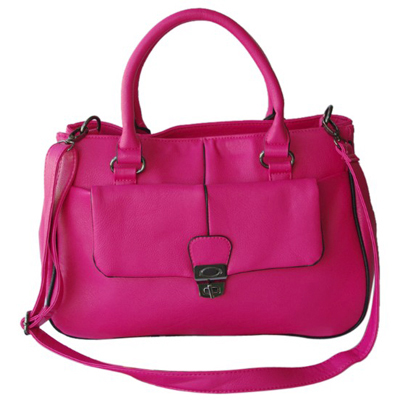 Ladies high pu leather fashion bag
