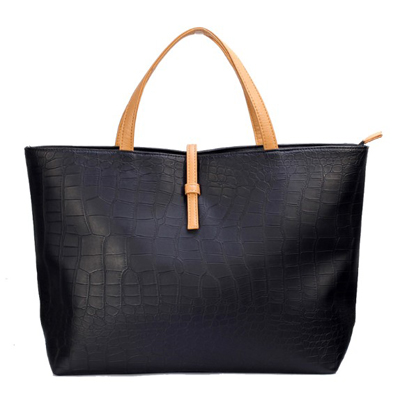 Promotion simple fashion handbag for women