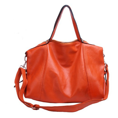 large soft faux leather bag for ladies
