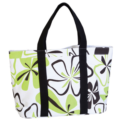 stylish printed beach bag