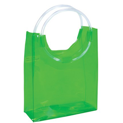 Clear tote bag, clear beach bag