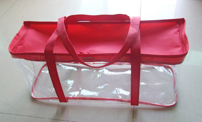 Clear PVC package bag