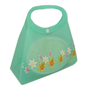 semi clear cosmetic bag can put bath set inside
