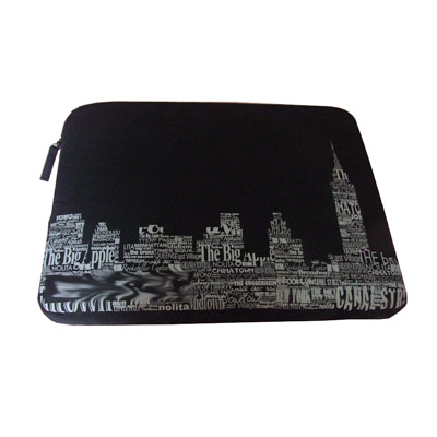Nylon lightweight laptop messenger bag