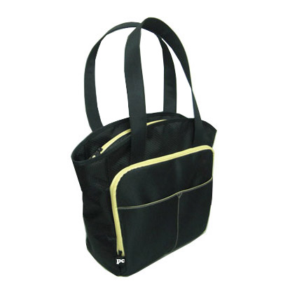 Stylish tote diaper bag
