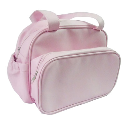 Save space PVC leather mummy diaper bags