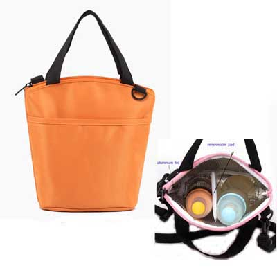 Fashion milk bottle cooler bag