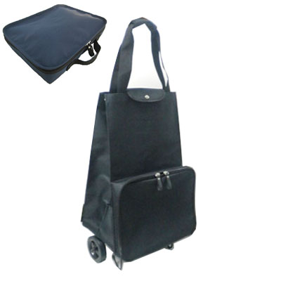 rolling shopping bag, foldable trolley bag