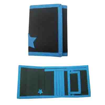 Cool style kids velcro wallet