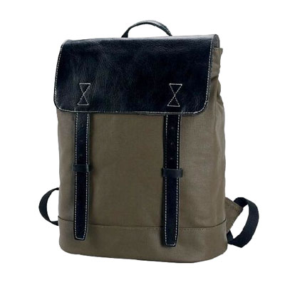 Canvas fashion men backpack
